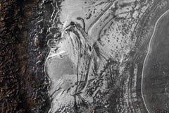 Zima obraz na wodzie obrazy royalty free