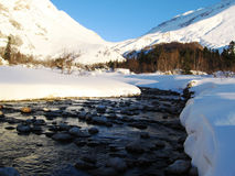 Zima obrazek fotografia stock