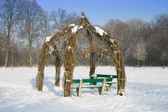 zima ogrodowa Obraz Royalty Free