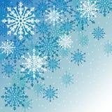Zima płatek śniegu lub śnieg Fotografia Royalty Free