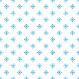 Zima płatka śniegu bezszwowy tło Wektorowy ilustracja wzór Obrazy Royalty Free