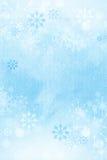 Zima płatka śniegu tło. Fotografia Stock