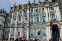Zima pałac saint petersburg Rosja zdjęcia royalty free