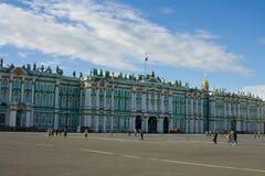 Zima Pałac Zdjęcie Royalty Free