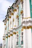 Zima pałac Obrazy Stock