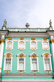 Zima pałac Obraz Stock