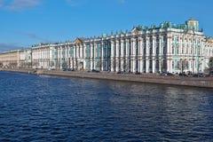 Zima pałac Fotografia Stock