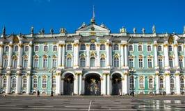 Zima pałac w Petersburg, Rosja obraz royalty free