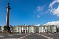 Zima pałac w Petersburg, Rosja obrazy stock