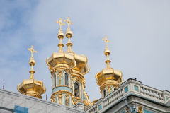 Zima pałac erem Obrazy Stock