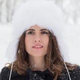 Zima portret Obraz Royalty Free