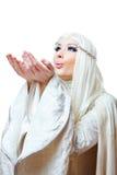 Zima princess fotografia royalty free