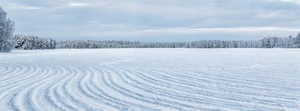 Zima przy Lapland Obrazy Stock