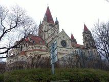 Zima ranek w Wiedeń obraz stock