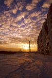 zima słońca Obrazy Royalty Free