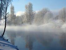 zima scenerii fotografia stock