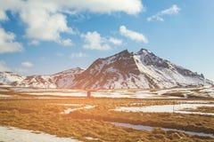 Zima sezonu naturalna krajobrazowa góra Zdjęcie Royalty Free