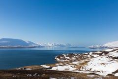 Zima sezonu naturalna krajobrazowa góra Zdjęcie Stock