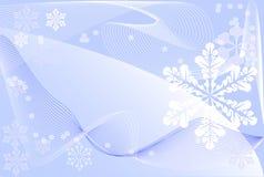 zima tło ilustracji