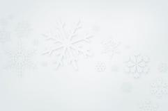 Zima tło Obrazy Royalty Free