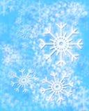 zima tło Zdjęcia Royalty Free