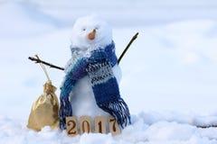 Zima trybowy szczęśliwy 2017 Obraz Stock
