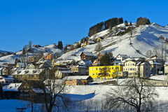 Zima w Appenzellerland Zdjęcia Stock