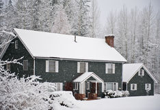 zima w domu