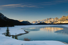 Zima w Górach Obraz Royalty Free
