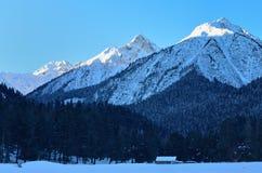 Zima w górach Zdjęcie Royalty Free