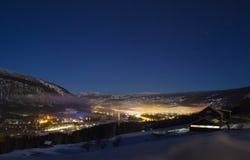 Zima w górach Zdjęcie Stock