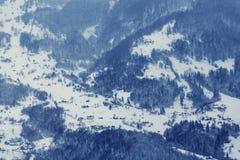Zima w Karpackim zdjęcia stock