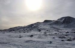 Zima w Kittelfjäll Zdjęcie Stock