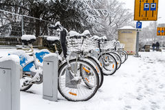 Zima w Luksemburg Obrazy Stock