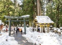 Zima w Nikko zdjęcia stock
