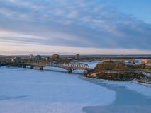 Zima w Ottawa Obraz Royalty Free