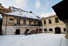 Zima w Praga Obrazy Royalty Free