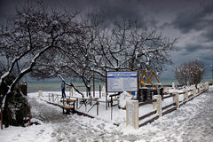 Zima w Sochi Zdjęcia Royalty Free