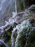 Zima w Tobera, Burgos, Castilla y Leon, Hiszpania Obraz Royalty Free
