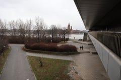 Zima w Wiedeń fotografia royalty free