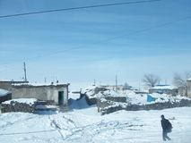 Zima w wschodzie Turcja Obraz Royalty Free