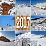 Zima wakacje 2017 obrazy royalty free