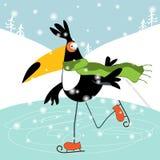 Zima wakacje i Szczęśliwi wakacje Obrazy Royalty Free