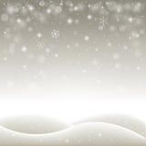 Zima wakacje krajobraz Zdjęcie Royalty Free
