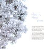 Zima wakacje tło Zdjęcia Stock