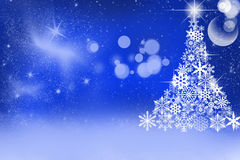 Zima wakacje tło Zdjęcie Royalty Free
