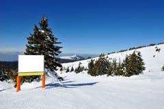 Zima wakacje w górze Obrazy Stock