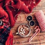 Zima wakacje wystrój Obraz Royalty Free
