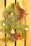 Zima wakacji dekoracja Zdjęcie Royalty Free