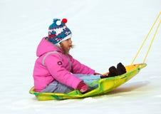 zima zabawy Zdjęcie Royalty Free